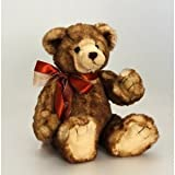 Theodore Collectable Signature Deluxe Teddy Bear 30cm - Keel Soft Toys - comes with an I LOVE YOU Red Heart for Valentines DaY by Keel Toys