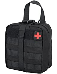 Rip Away EMT Pouch Molle Medical Trousses de Premier Secours étanche Nylon 1000D Tactique Sac
