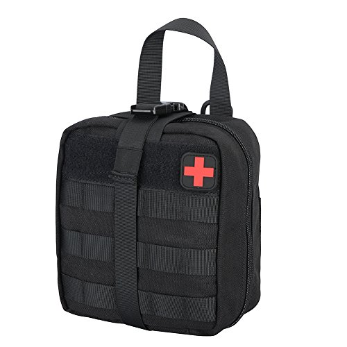Ajudy Rip-Away EMT Tasche Coyote First aid Pouch (schwarz) - Molle Pouch Medical