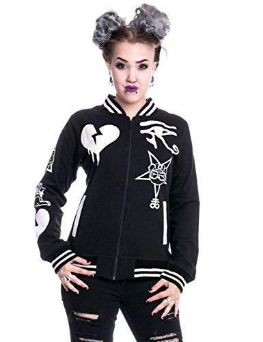 Killer Panda College per Egypt Cult Varcity Jacket giacca da nero XL