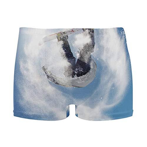 best gift Mens Swim Trunks Snowboarding Jump Air Sun Boxer Briefs Board Short Beach Shorts Men Swimming Briefs Swimwear XXL -
