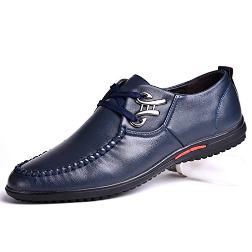 Men's Pu Leather Ankle Causal Shoes b