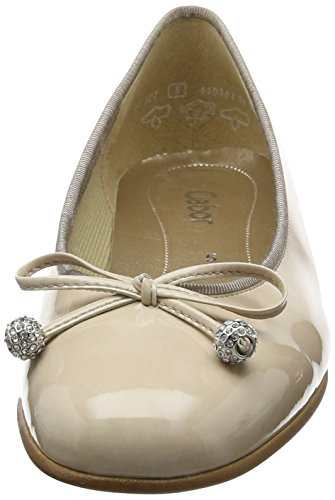 Gabor Damen Lisa Geschlossene Ballerinas Beige (sand 72)