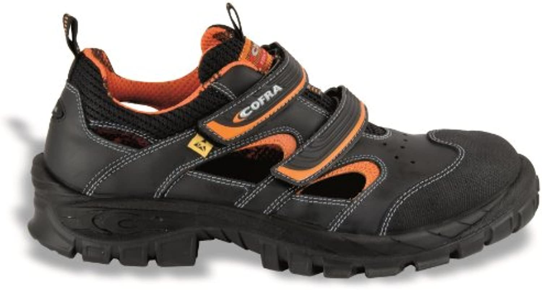 Cofra de seguridad sandalias de Asgard 13010-001 Vithar S1 P ESD ideal en verano, colour negro