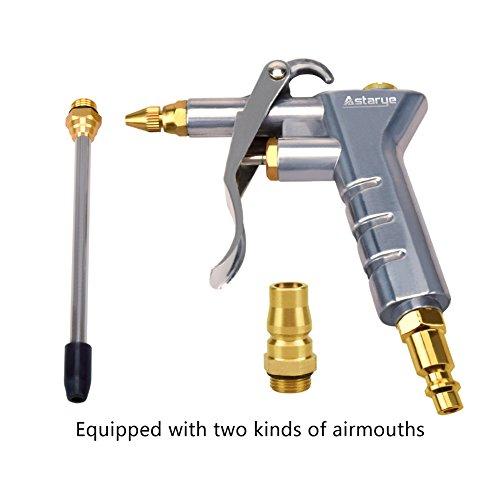 Filtro de aire soplo Astarye boquilla plumero pistola pistola con una extensión dos Airmouths herramienta de limpieza