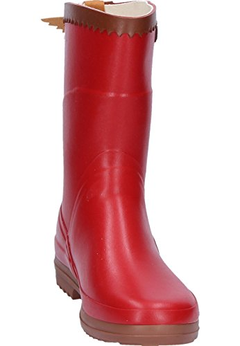 Aigle Bison Lady Cardinal, Gummistiefel Rot