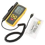 GM1361 Misuratore di Umidità e Temperatura Digitale, Termometro Igrometro Digitale Palmare a -10 ℃ a 50 ℃ a 10% RH ~ 98% RH a tipo K -30 ℃ a 1000 ℃
