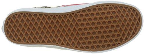 Vans Herren UA Era Sneaker Rot (2-tone Check)
