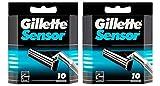 Gillette Senser 20er Rasierklingeln