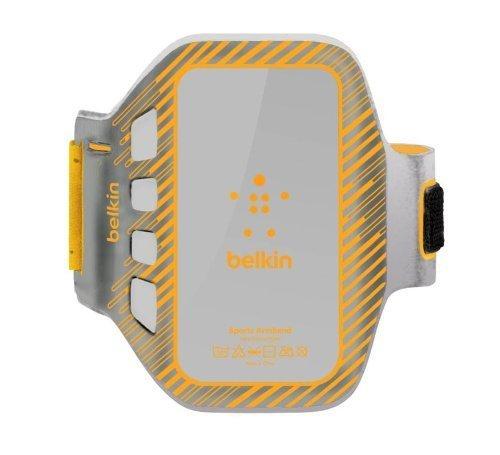 Belkin Neopren EaseFit Plus spritzwassergeschütztes Sport Armband für HTC One orange -