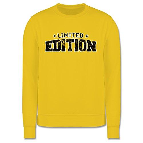 Statement Shirts - Limited Edition Vintage - Herren Premium Pullover Gelb