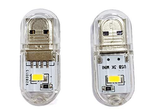 5Pcs Mini-Usb-Nachtlicht Im Freien Kampierendes Licht Usb-Handgepäck-Geschenklicht -