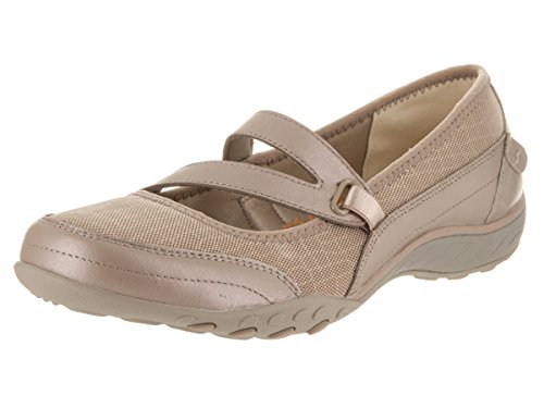 Skechers Breathe-Easy-Lucky Lady, Mary Jane Femme Champagne