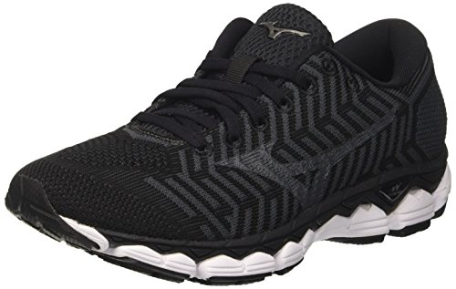 Mizuno Waveknit S1 Wos, Zapatillas de Running para Mujer, Multicolor (Black/Black/Darkshadow 09), 39 EU