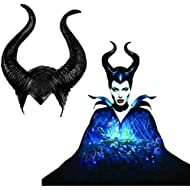 SKJIND Maleficent Costume Horns Halloween Cosplay (Maleficent-black)
