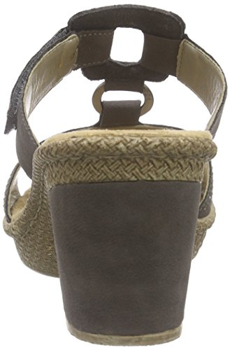 Rieker - 66533-45, Sandali Donna Marrone (Marrone (Brown))