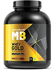 MuscleBlaze Whey Gold Whey Protein - 2 Kg (Rich Milk Chocol