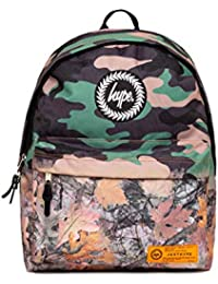 HYPE Backpack for Girls Boys Men and Women | for School Gym Travel Casual Day use Water Repellent 18 Litre Capacity