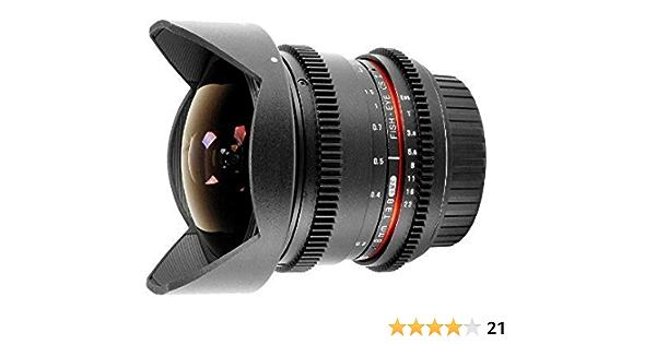Samyang Fisheye Objektiv 8mm T 3 8 Für Video Dslr Canon Kamera
