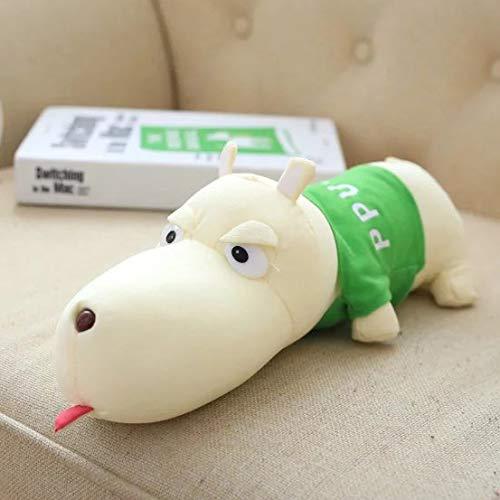 suxiaopei Plüschtier süße große Hund Bambuskohle Tasche Schaumpartikel Puppe Puppe Auto Deo Dekoration grün Gesamtlänge 33 cm -