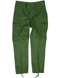 Zip-Off Feldhose BDU oliv, Größe:L