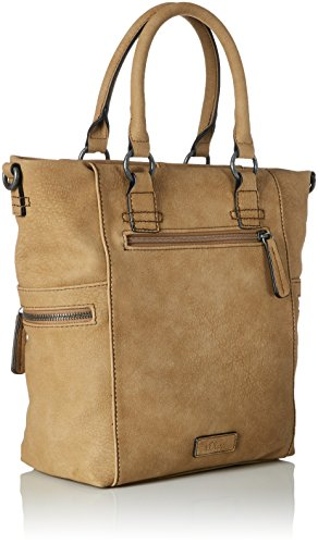 s.Oliver (Bags) - Shopper, Borse a mano Donna Beige (Sandstone)