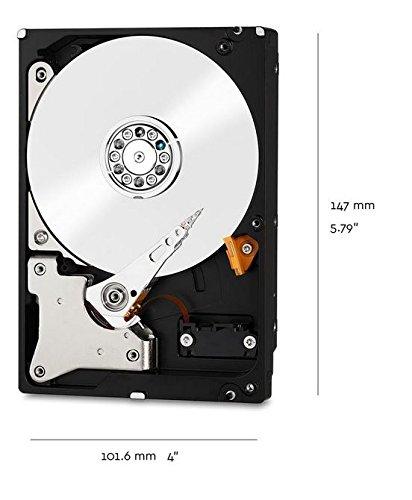 Wd Red 3tb Interne Festplatte Sata 6gbs 64mb Interner Speicher (Cache) 8,9 Cm (3,5 Zoll) 24x7 5400rpm Optimiert Für Soho Nas Systeme 1-8 Bay Hdd Bulk Wd30efrx