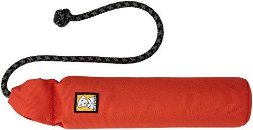 Ruffwear Hundespielzeug mit Seil, Treibt auf dem Wasser, One Size, Rot (Sockeye Red), Lunker, 60202-601M