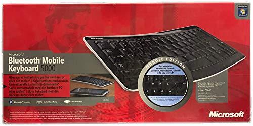 Microsoft Bluetooth Mobile Keyboard 5000 Tastatur (Microsoft Tastatur 5000)