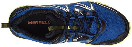 Merrell Capra Bolt Gore-Tex, Scarpe da Arrampicata Uomo, Black, 41 EU Blu (Mykonos)