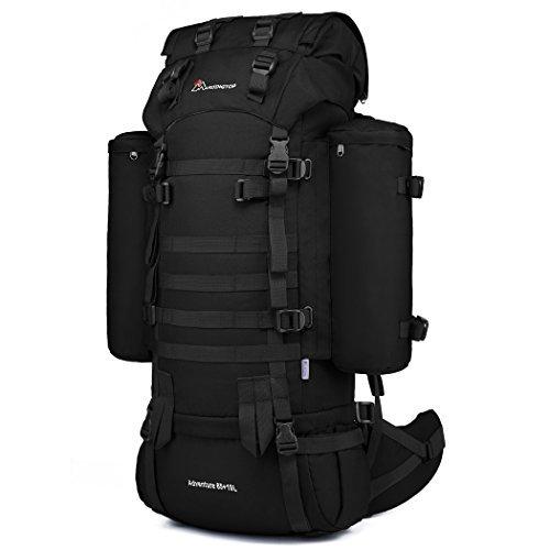 (Mardingtop Rucksack 65+10L Taktischer Rucksack Wanderrucksack Trekkingrucksack YKK Zipper mit der großen Kapazität)