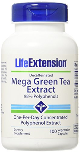 Mega Green Tea Extract 98% Polyphenol, 100 Vega-Kaps. - Mega Green Tea