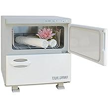 Chauffe-serviettes pour spa , institut de beauté et massage, capacité XL 32 litres , deux compartiments séparés