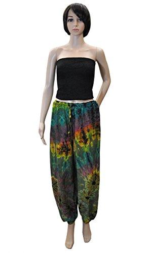 wifash - Copricostume - Tie-Dye -  donna 42472 - Haremshose