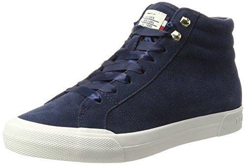 Tommy Hilfiger Women's Wmn Y1285ARMOUTH 3B High Neckline Sneaker, Blue (Tommy Navy 406), 7 UK