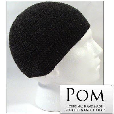 Berretto di maglia Unisex a forma di teschio con cappello: 2ST carbone