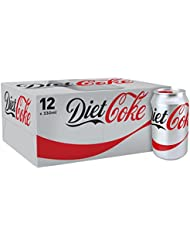 Diet Coke Drink, 12 x 330 ml