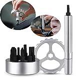 Spinner Drive Hand Tool 10 en 1 Tournevis rotatifs multifonctions pour la réparation...