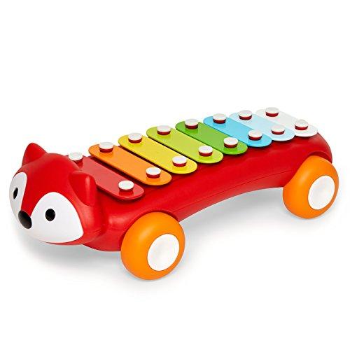 Skip Hop Explore & More Fuchs Xylophon, Musikinstrument für Kinder, mehrfarbig