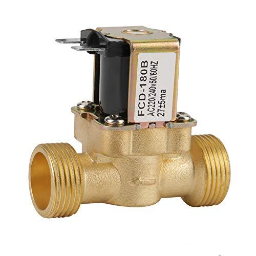 Geschwindigkeit Elektrische Feld (Akozon Magnetventil G3/4 2 Way Wassereinlass N/C Normal Geschlossenes Elektrisches Magnetventil AC 220/240 V FCD-180B Einlassventil Magnetventil,Normalerweise Geschlossen Einlass Magnetventil)