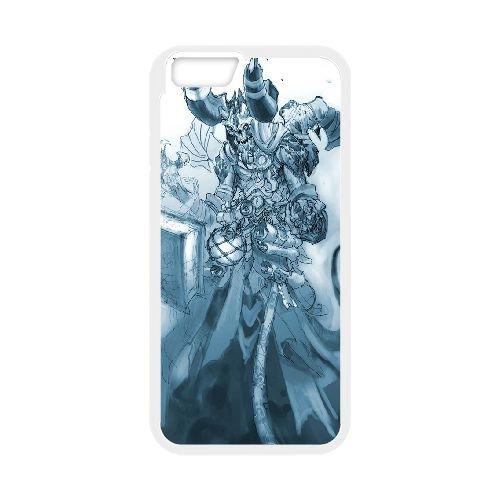 Darksiders coque iPhone 6 Plus 5.5 Inch Housse Blanc téléphone portable couverture de cas coque EBDXJKNBO14861