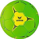 Erima Ballon de Handball Mixte Adulte, Green Gecko/Jaune, Taille : 3