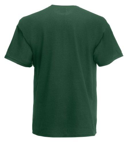 Fruit of the Loom Super Premium T-Shirt Bottle Green