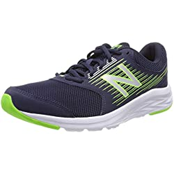 New Balance 411, Zapatillas de Running para Hombre, Azul (Navy/RGB Green/Silver Ln1), 41.5 EU