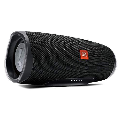 JBL Charge 4 Connect+ e Bass Radiator Speaker Bluetooth Portatile Cassa Altoparlante Waterproof IPX7 con Microfono Porta USB fino 20 h di Autonomia