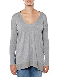 GUESS Ls Vn Alisee Swtr-W63r20z0xf0, Camiseta Térmica Para Mujer