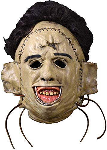 Massacre Kostüm Chainsaw - Deluxe Texas Chainsaw Massacre Leatherface Killing Maske