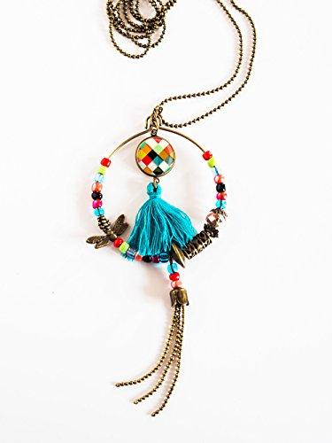 long-halskette-mehrfarben-patchwork-bohemia-joker-ausbau-bronze