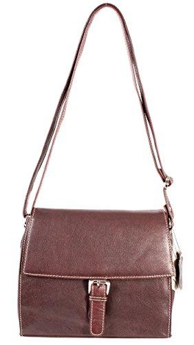 Oxbridge Satchel Shop , Sac à main porté au dos pour femme marron petit