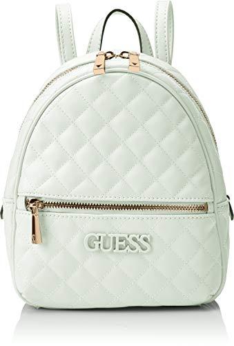 Guess Damen Elliana Backpack  Rucksack Damen - Minze (Mint) - 22x29x10.5 centimeters (W x H x L) - Mint Handtasche Rucksack